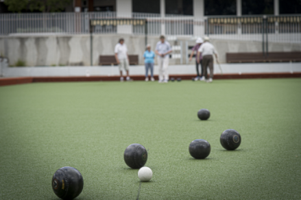 Lawn bowls at Riverview Carrington assisted living Camden